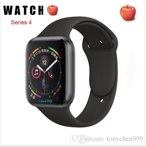 Smart watch 44mm Series 4 Bluetooth Smartwatch Heart Rate Monitor Sport for Huawei Xiaomi iPhone 11 x xs Goophone iwatch Watches box