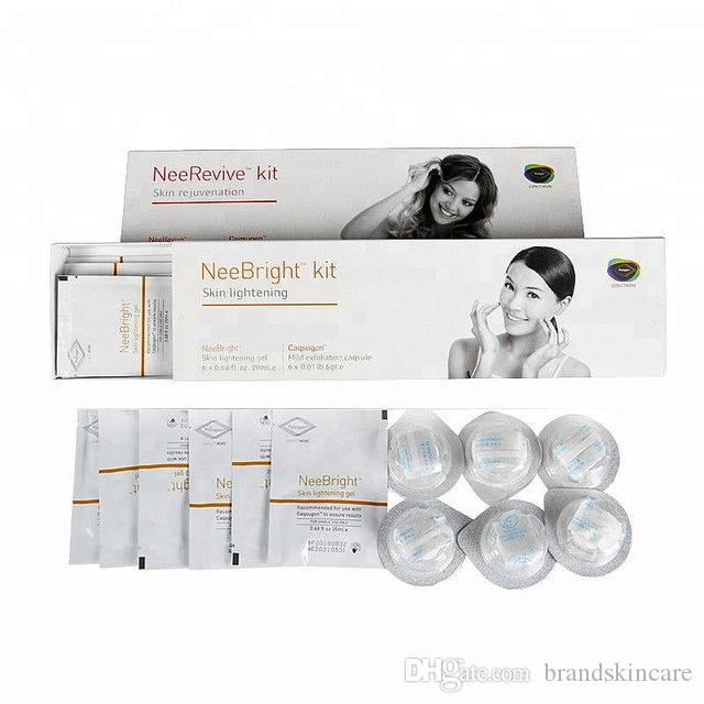 Oxygen Facial Machine Use Nee Revive & Nee Bright Kit Face Oxygen Using Acne Treatment Kit Whitening and Anti-aging Kit