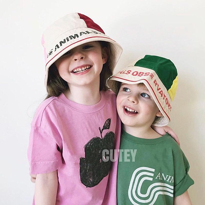 c3b90451b46 2019 Summer TAO Children Sun Hat Girls Bucket Hat Cute Letters Cartoon Baby  Caps Bobo Choses Boys Cap Gorros Infantiles 2 6Y UK 2019 From Superbest20