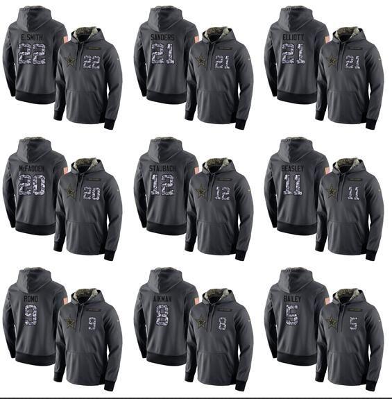 new style ea98e a1ce6 Men Women Youth Dallas cowboys dark gray admiral version of a hoodie