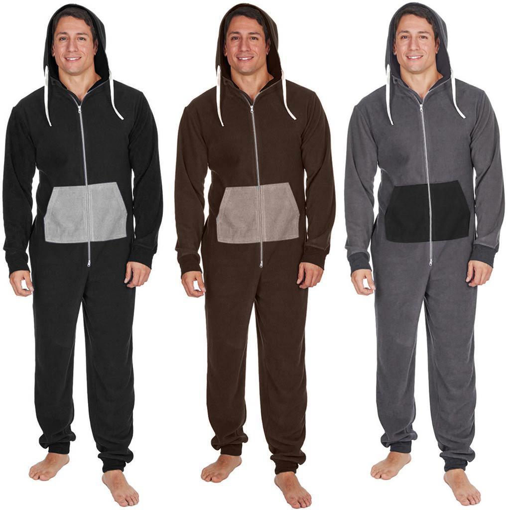 03c353ae10b6 2019 2019 Winter Men S Plus Size Home Pajamas One Piece Adult Onesie Mens  WomenJumpsuit Sleepwear Dec12 From Yuanbai