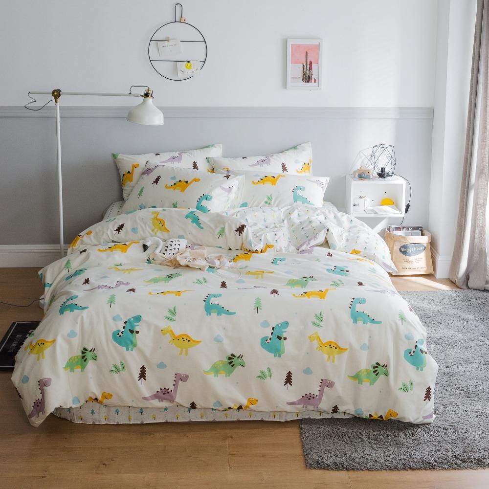 Grosshandel Reiner Baumwolle Bettwasche Dinosaurier Gedruckt
