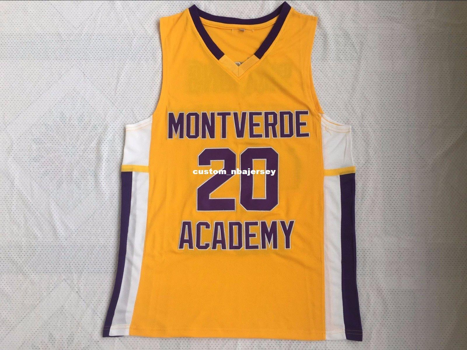 finest selection c3e00 97e1f Cheap custom Ben Simmons #20 Montverde Academy Eagles Jersey Stitched  Stitched Customize any number name MEN WOMEN YOUTH XS-5XL