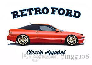 FORD PROBE GT MK2 t-shirt. RETRO FORD. CLASSIC CAR. MODIFIED.