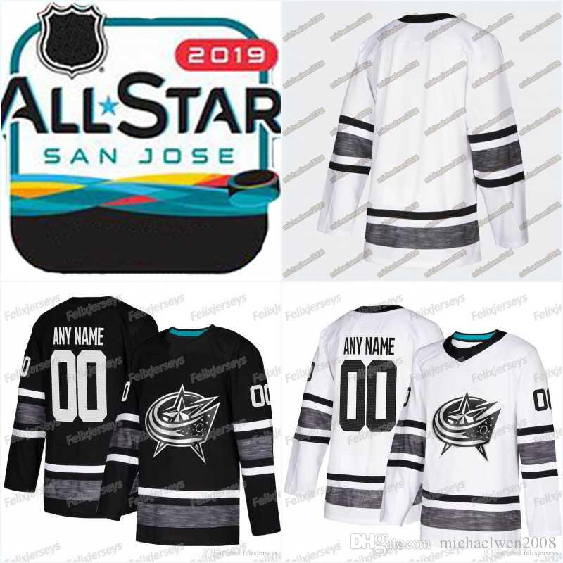 the latest 91d50 4f975 2019 Men 2019 All Star Game Jersey Artemi Panarin Cam Atkinson Josh  Anderson Sergei Bobrovsky Korpisalo Columbus Blue Jackets Hockey Jerseys  From ...