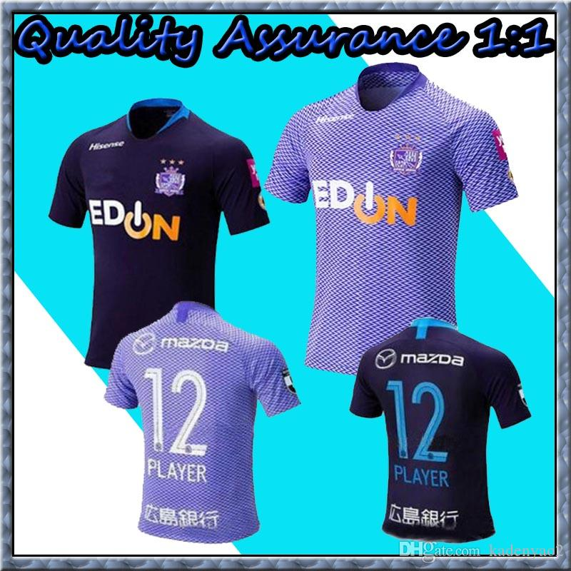 e58473f088f 19 20 J1 League Sanfrecce Hiroshima Soccer Jerseys 2019 Home  12 ...