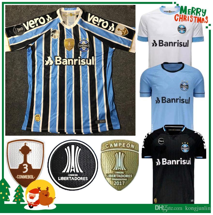 2019 2018 2019 Gremio Paulista Soccer Jerseys 18 19 Gilchmei Best Gremio  Johnath MILLER LUAN Marlone Azevedo Da Silva Football Shirt From Kongjunlin 48f2edd49
