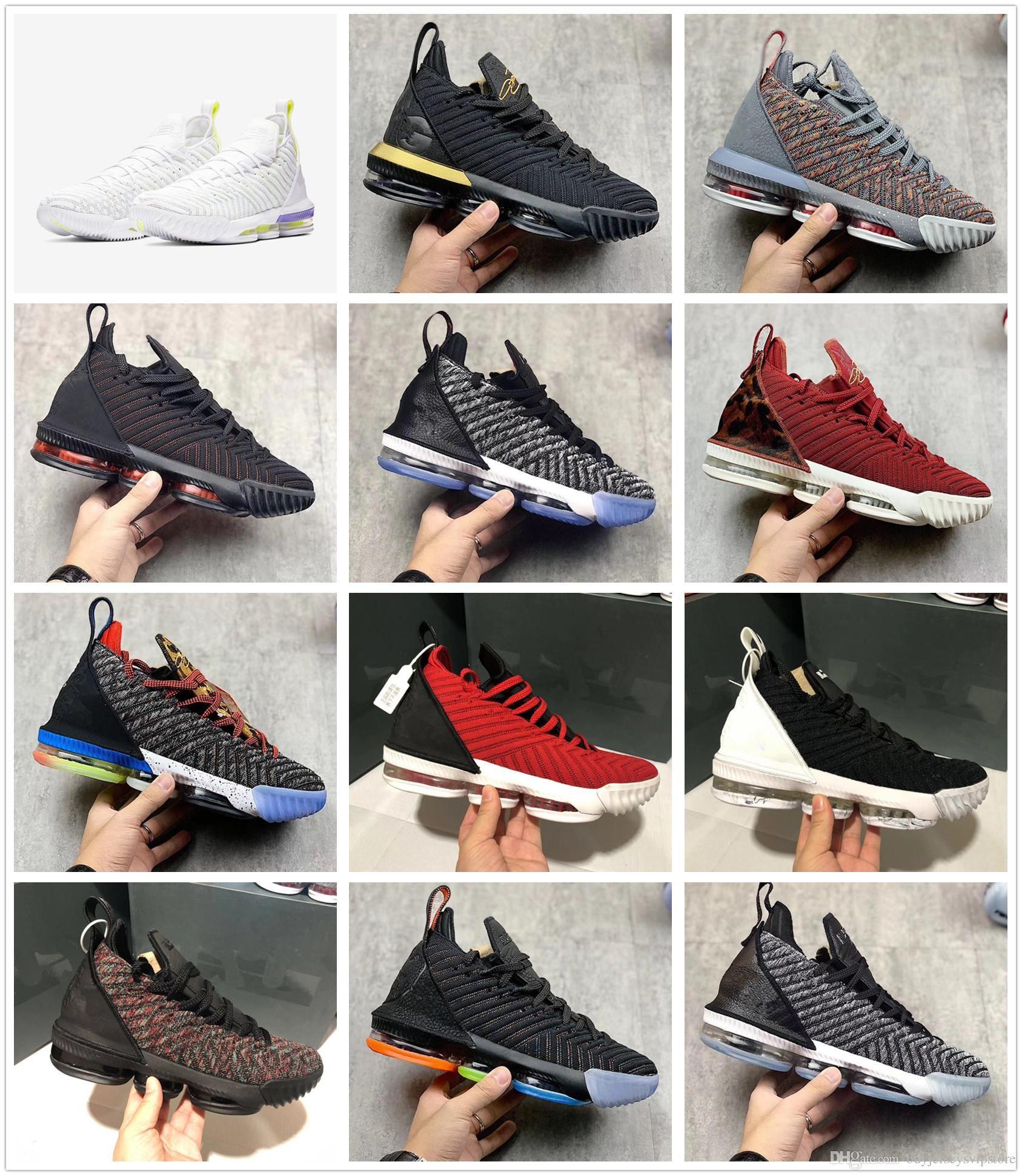 new style e0629 70067 LeBron shoes james 16 I m King LeBron 16 BuzzsLightyeas 1 Mid Lakers size  us7-us12