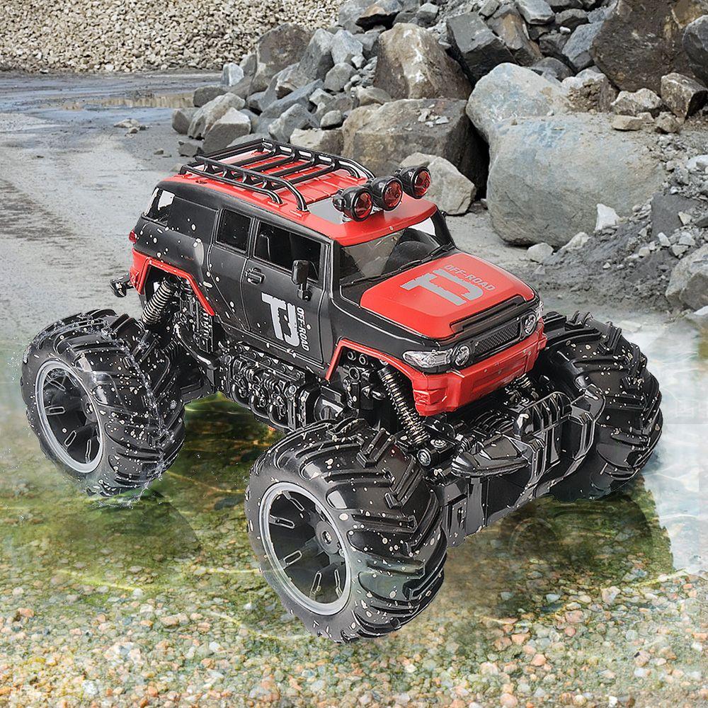 Rc Car Dirt Bike 1/16 2 Wheel Drive Rock Crawler Rally Car Bigfoot Off-Road  Vehicle Remote Control Machines Kids Gift
