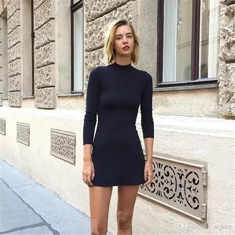 Chique Kersttrui.Fashion Women Dress Autumn Spring Ukraine Long Sweatershirt Dresses