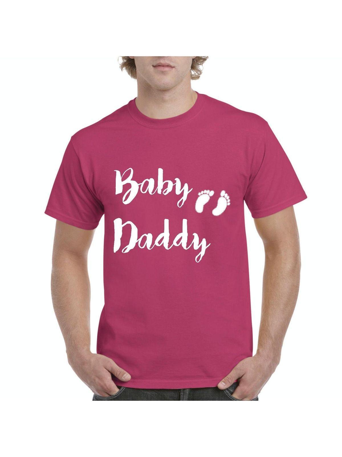 Baby Vati Vatertags Papa Babyparty Geschenk Neuer Hemden Der Neuen Vati Mutter Männer Lustiges Freies Verschiffen Unisex Beiläufig
