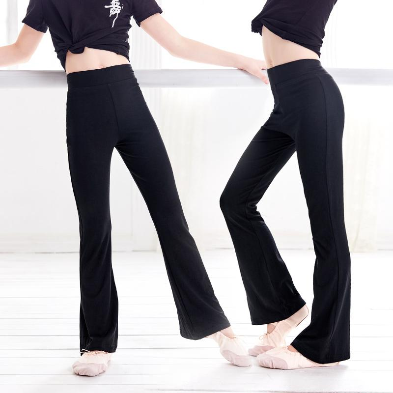 0efba67a4ea79 2019 Kids Flare Dance Pants High Waist Sport Pants Girl Sweatpants Yoga  Running Sportswear Fitness Leggings From Sugarher, $45.63 | DHgate.Com