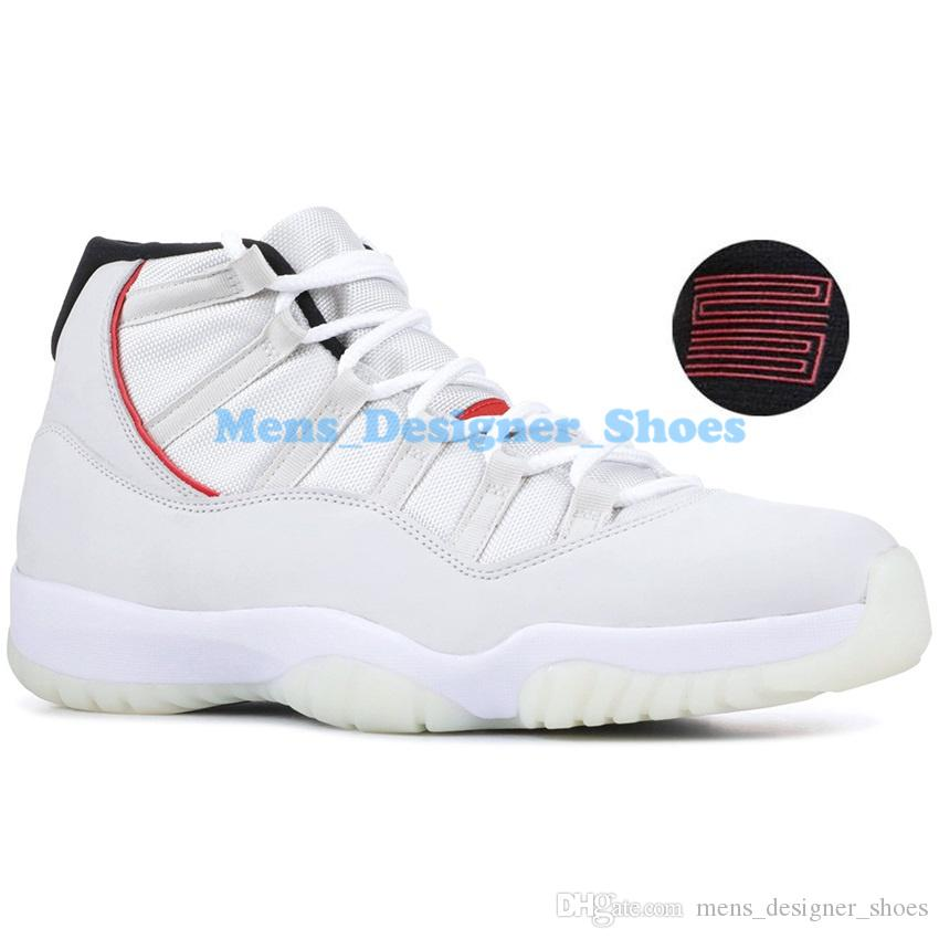 Concord 45 Nike Air Jordan 11 11S Retro XI Platinum Tint Hombre Zapatillas de baloncesto 11 Bred Space Jam Cap y Bata PRM Mujer Zapatillas deportivas EE. UU.