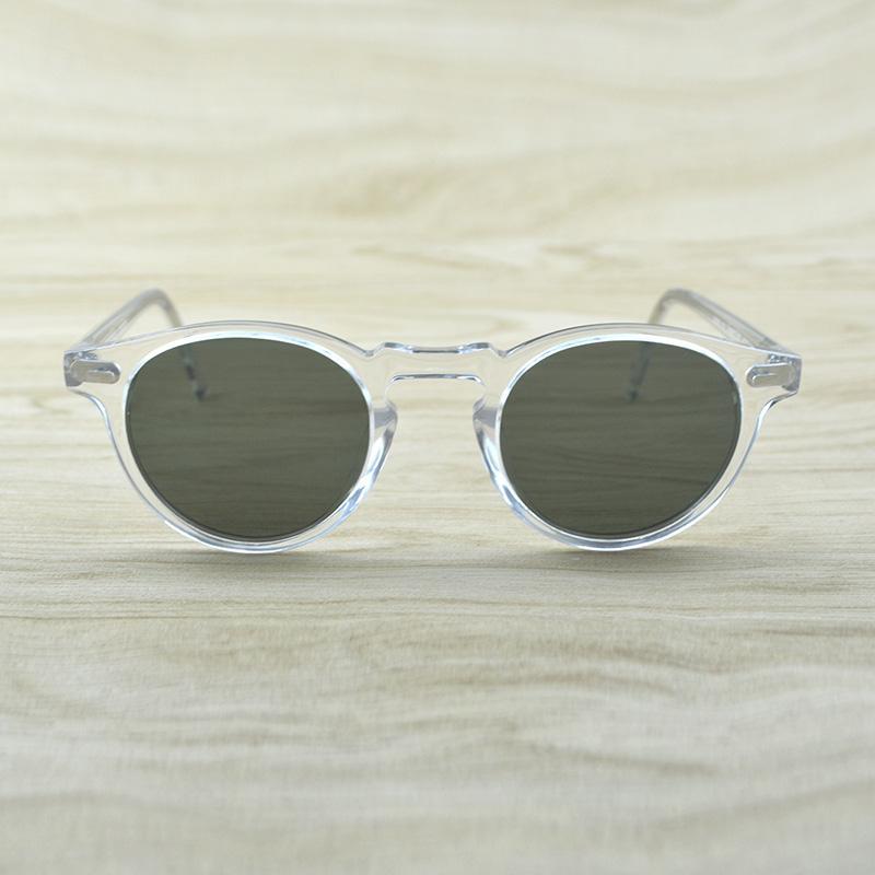 84a30b851 Compre Gregory Peck Marca Designer Homens Mulheres Óculos De Sol Do Vintage  Óculos Polarizados Oculos De Sol Ov5186 Retro Óculos De Sol Ov 5186 De  Haydena, ...
