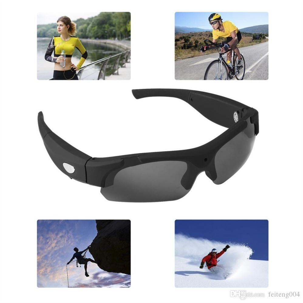 be4a6c4532c5 2019 1080P HD Interchangeable Polarized Lenses Sunglasses Camera Video  Recorder Sport Sunglasses Camcorder Eyewear Video Recorder #42778 From  Feiteng004, ...