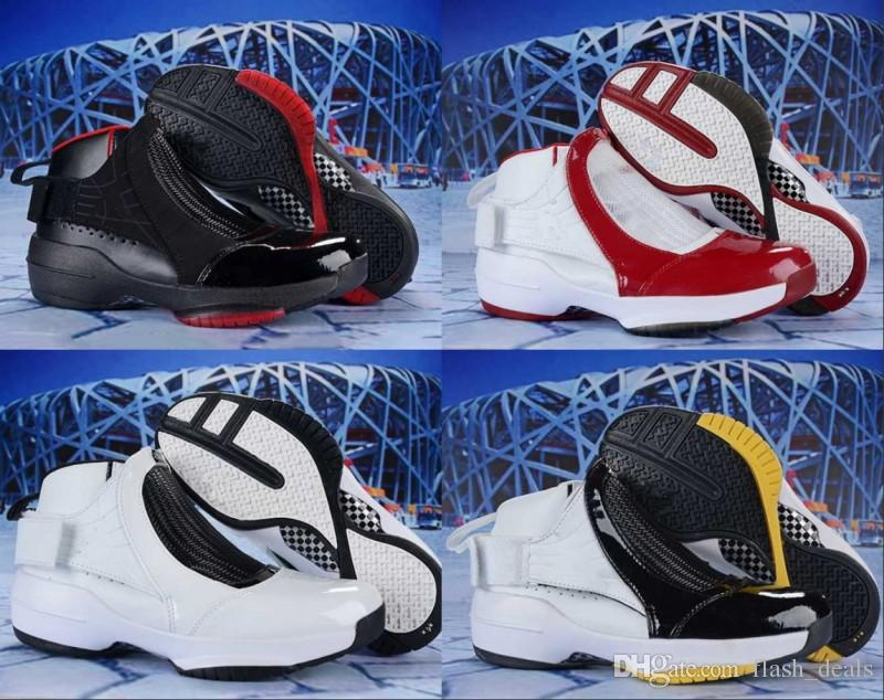 3778e1cc085 2019 New Jumpman 19 White Black Red Yellow Basketball Shoes For Good  Quality 19s Men Classic Sports Sneakers Size 40 46 Designer Shoes Sneakers  For Women ...