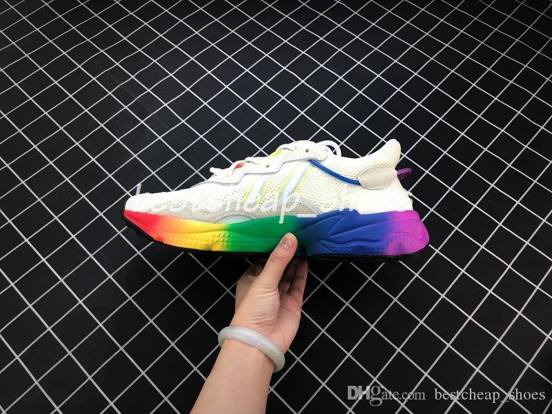 2019 Correr Hombre De Ozweego Corredor Deportivo Zapatillas Mujer Deporte Para Diseño Pride Nuevo Verano Rainbow Sole Jc1T3uKlF