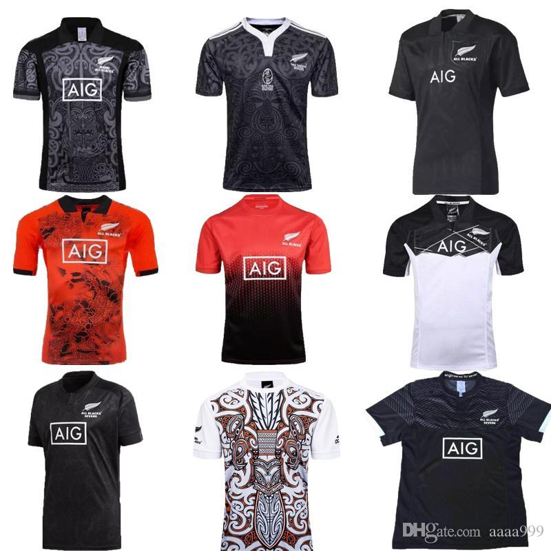 8815b0f2c53 2019 All Blacks Training Jersey 2018 Super RUGBY All Blacks Performance  Home Jersey 2018/2019 New Zealand All Blacks Rugby Jersey Size S XXXL From  Aaaa999, ...