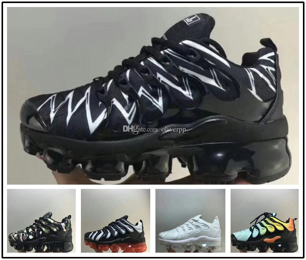 e2671eb12df8d Baby Kids TN Plus Running Shoes Boys Girls Sneakers Sports For Child  Chaussures Children Jogging Size 28 35 Running Spike Shoes For Kids Big  Kids Running ...
