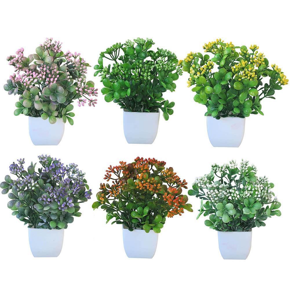 1Pc Potted Artificial Flower Stage Garden Wedding Home Party Decoration Props Stages Hot