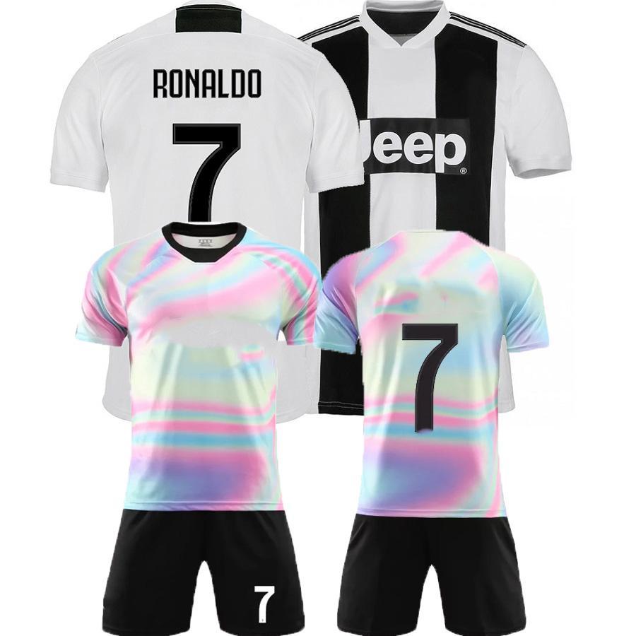best service 2f07c d237a 2019 2020 Soccer Jersey Juventus Football Shirt Ronaldo Dybala Mandzukic  Chiellini Camiseta De Fútbol Bernardeschi Maillot De Foot 19 kids