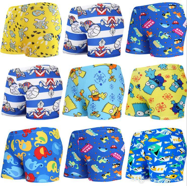 5a62f1d1a6d95 2019 Children Swimming Trunks Baby Swimsuit Boys Flat Angle Cute Cartoon  Breathable Comfortable Swimming Trunks From Soccer51, $5.08   DHgate.Com