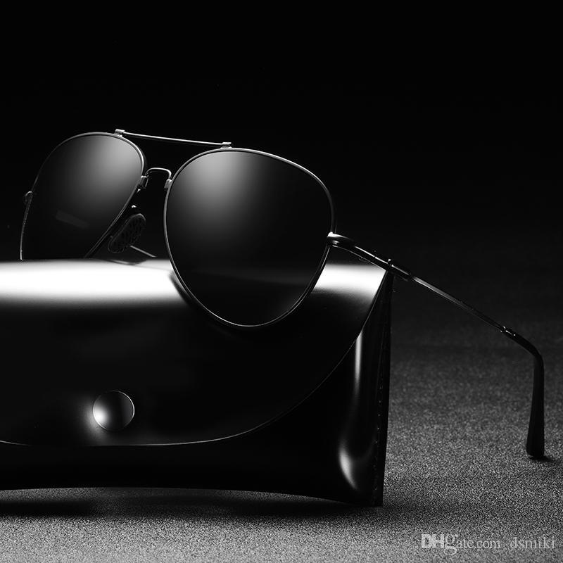 Compre Moda De Alumínio E Magnésio Óculos De Sol Esportes Ao Ar Livre  Ciclismo Óculos Óculos Polarizados Homens Óculos De Sol Uv400 Óculos De  Condução ... 9c64291da3
