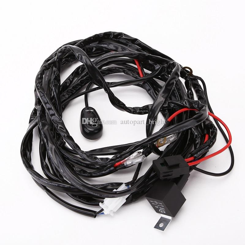 Phenomenal Universal Automotive Electrical Car Lighting Wire Harness Dual Wiring 101 Tzicihahutechinfo