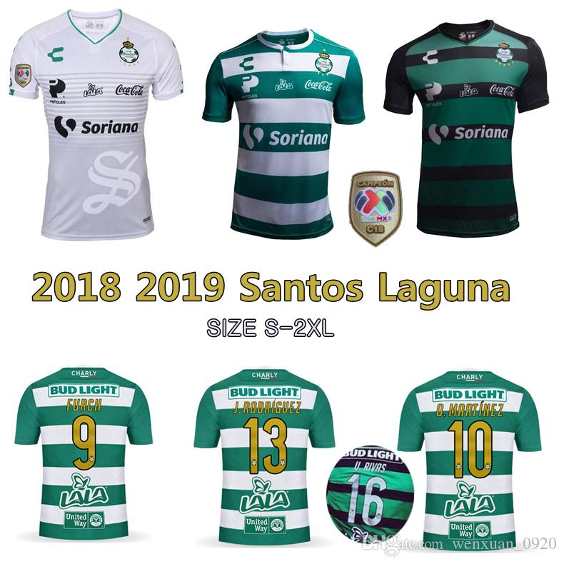 2019 2018 2019 Santos Laguna Soccer Jersey 18 19 Home Away 3rd Santos  Camisetas Mexico Liga Jerseys Furch Djaniny Sánchez Football Shirts From  Wenxuan 0920 57d2cceac10fc