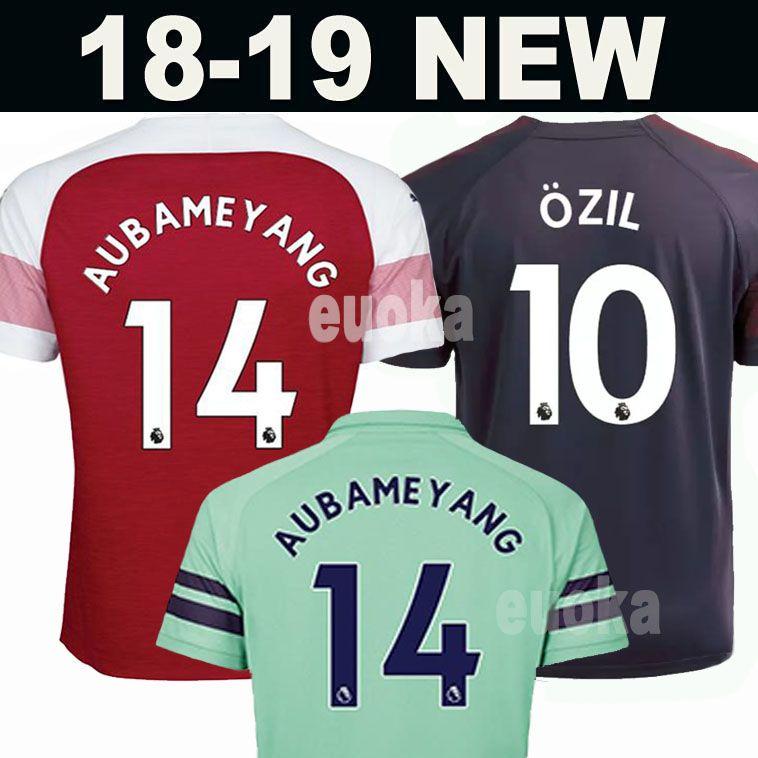 650a024c4 18 19 Arsenal Soccer Jersey Hombres Mujeres Niños Kits 14 AUBAMEYANG 10  OZIL 9 LACAZETTE 11 TORREIRA 8 RAMSEY IWOBI MKHITARYAN 2018 Camisetas De  Fútbol Por ...