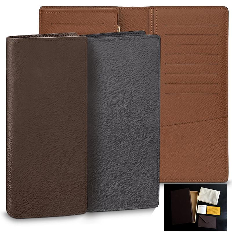 fc5cbdc428b42 Großhandel Designer Brieftasche Leder Brieftaschen Für Männer Frauen  Kartenhalter Minimalistische Lange Kurze Stil Luxus Brieftasche Geschenkbox  14 Stil ...
