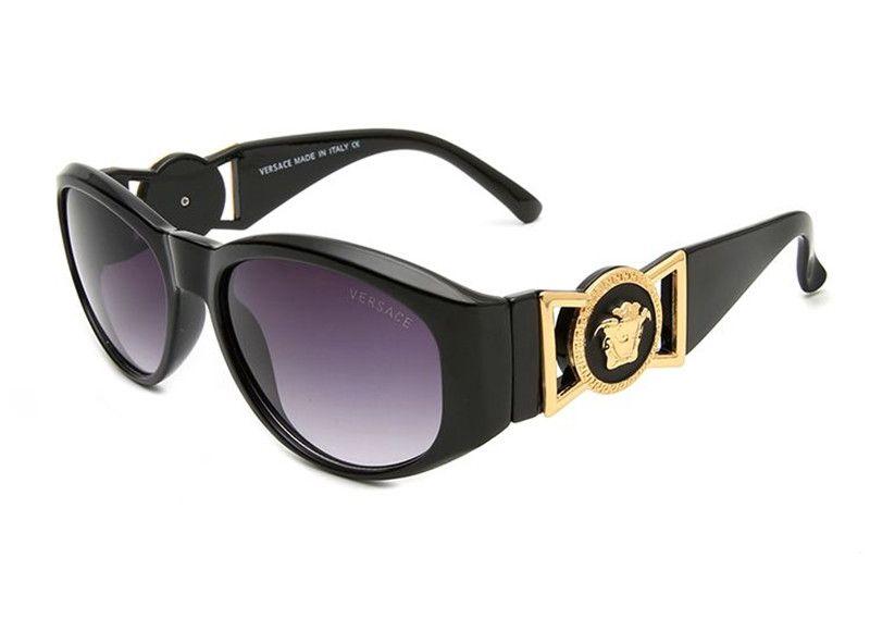 3d37e71269 Compre 2018 Brand Designer Unisex Black Purple Gold Wood Full Frame Cristal  De Cuerno De Búfalo Para Hombres