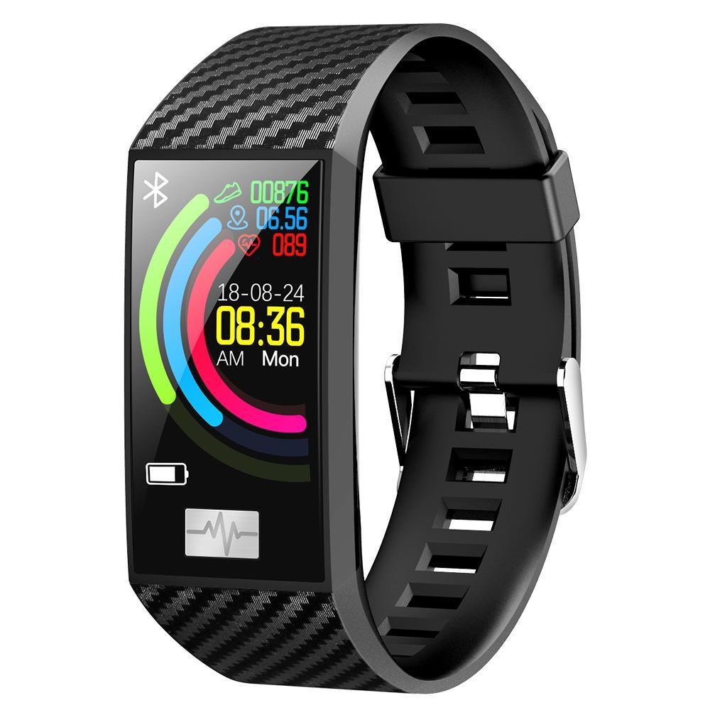DT58 Smart Bracelet Big Screen Activity Fitness Tracker ECG Band Heart Rate  Watch Sports Smart Wristband