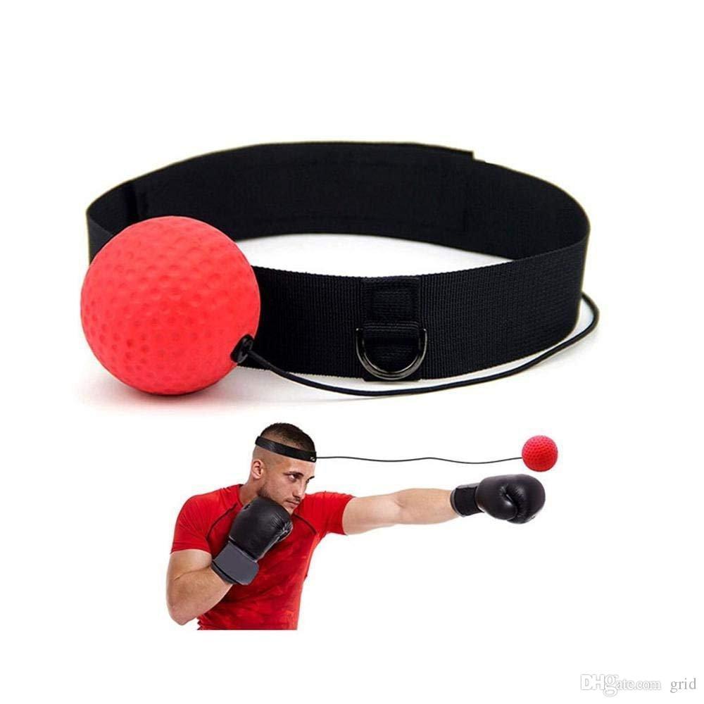 Hand Eye Training Set Head-Mounted Boxing Reflex Ball To Reaction Boxing Ball LD