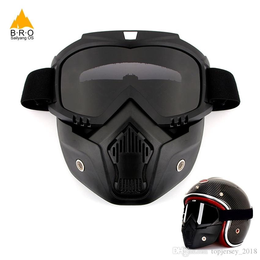 1c74bc4756d Men Women Anti-UV Goggles Dust-proof Cycling Face Mask Snowboard Masks Ski  Goggle Glasses for Bicycles Detachable Sports Eyewear  138355