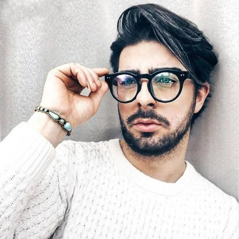 9b7a72b2f1 2019 Classic Fashion Women Men Glasses FrameTransparent Eyeglasses Frame  Vintage Oval Clear Lens Glasses Optical Spectacle Frame From  Marquesechriss
