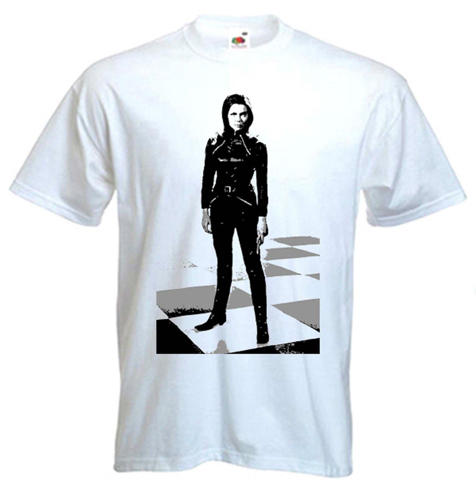 51f65e4e4acd5 Emma Peel T-Shirt Diana Rigg The Avengers Sz S-XXXL Funny free shipping  Unisex Casual