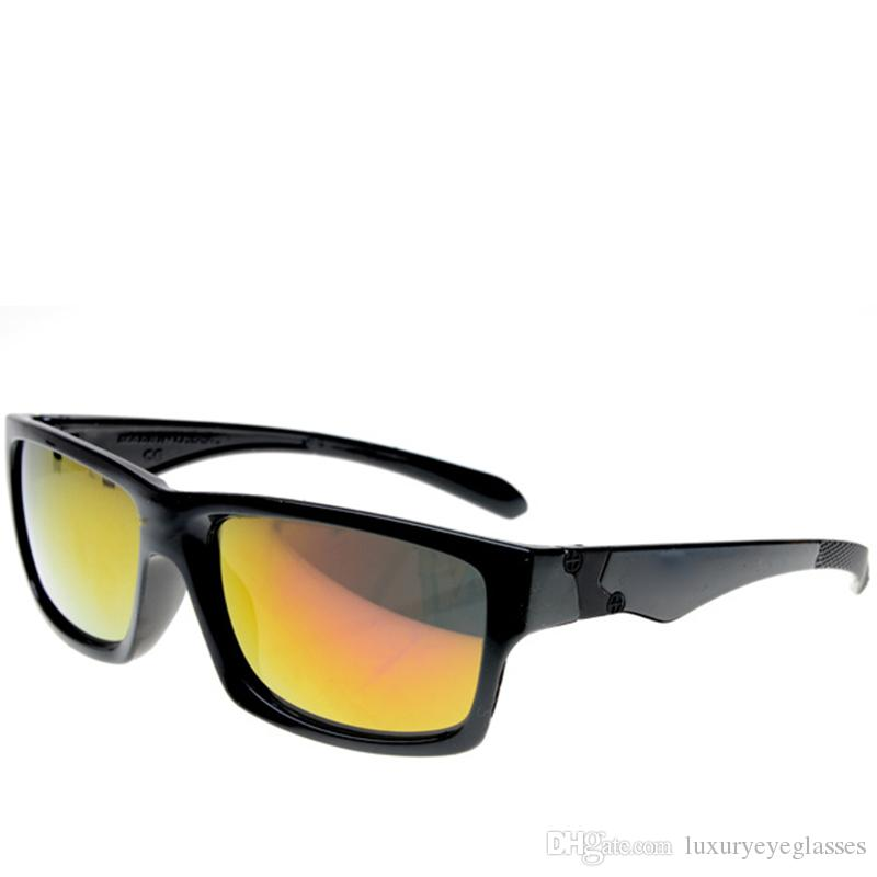 Squared Wrap Round Coating Sunglasses Best Qualily Driving Glasses
