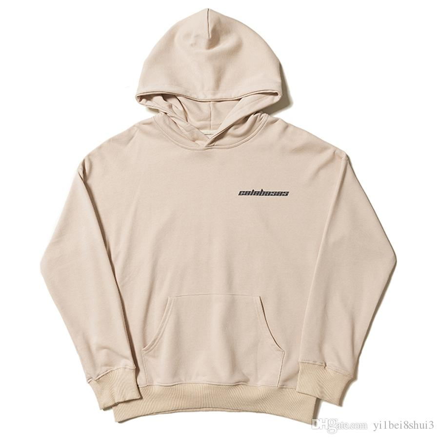 14e69ace4 2019 Kanye West Season 5 Calabasas Hoodie Sweatshirt Men Women Jackets  Tracksuit Hip Hop Streetwear Harajuku Coat Printed Hooded Pullover Fashion  From ...