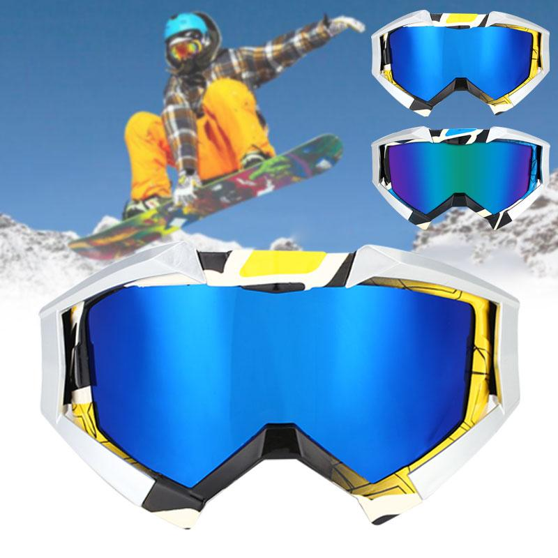 2018 Ski Goggles Wind Mirror 2 Colors Antifogging Durable Snowboard Game Riding Snowmobiling Motion