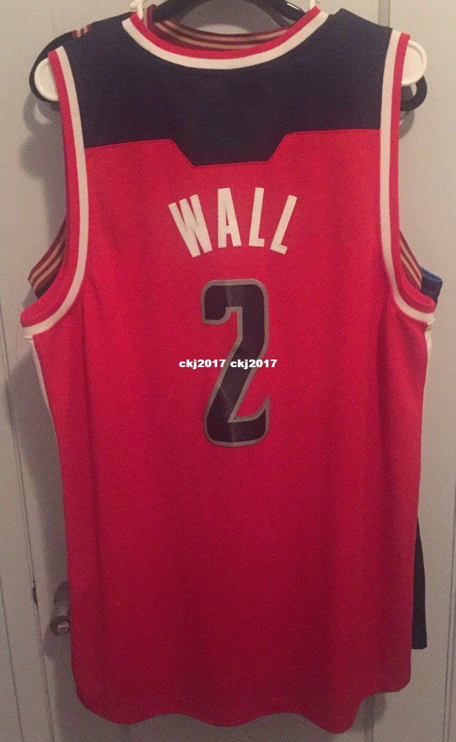 the best attitude 1db8f 7dec2 Cheap wholesale John Wall Jersey AD Men Red Sewn Beal #2 T-shirt vest  Stitched Basketball jerseys Ncaa
