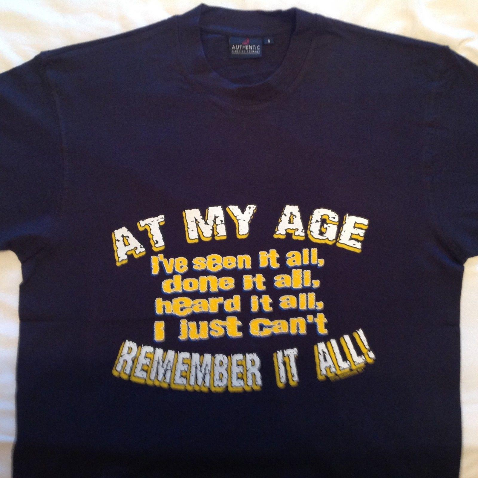 Kleidung Accessoires BIRTHDAY T SHIRT PERSONALISED 30TH 40TH 50TH ANY AGE TSHIRT SIZES