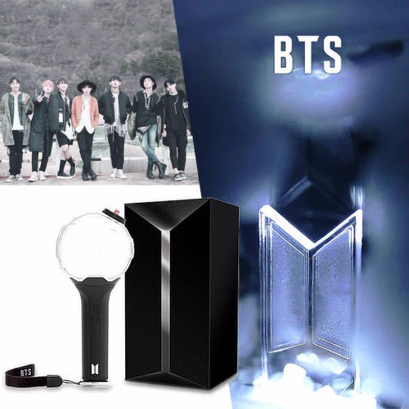 Wholesale Kpop For BTS Light Stick Ver3 ARMY BOMB Bangtan Boys Concert Glow Lamp Lightstick V Fans Gift Luminous Toy Birthday Gifts UK 2019 From Diantoys