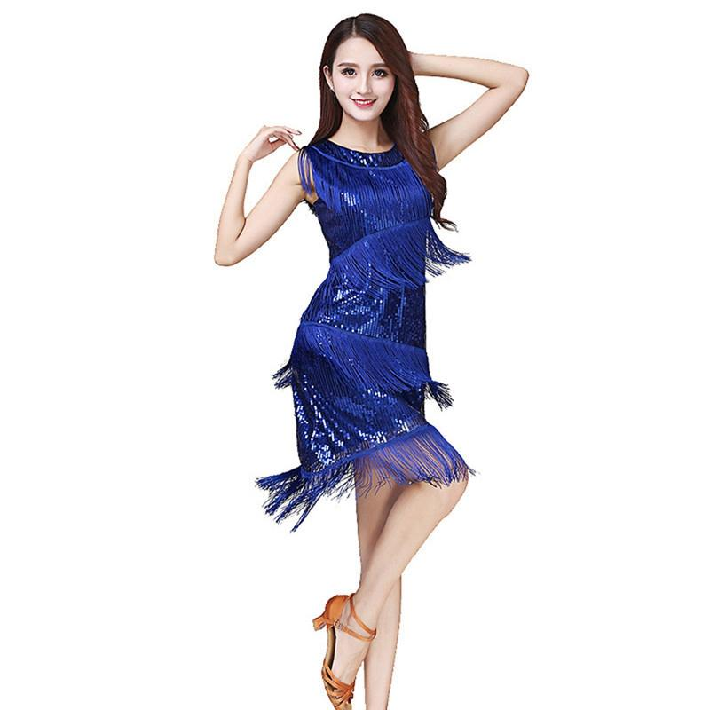 c5ba8d3fe5266 New Latin Dance Dress Latin Dance Skirt for Women Professional Sumba ...