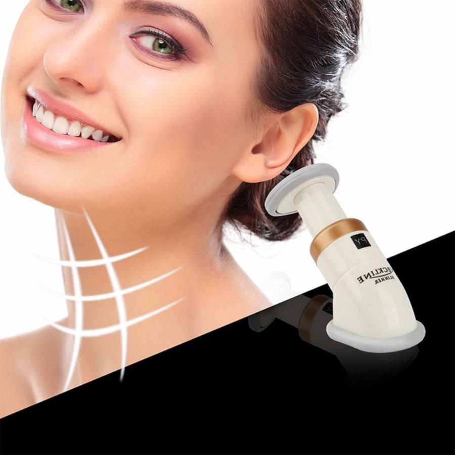 Chin Neck Massage Delicate Neck Slimmer Neckline Exerciser Reduce Double Thin Removal Jaw Body Massager Face Lift Tools 100pcs RRA936