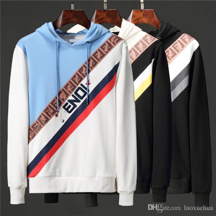 AAA qualité sweat à capuche printemps hommes casual sportswear à capuche lettre à capuche imprimé pull sweat vêtements