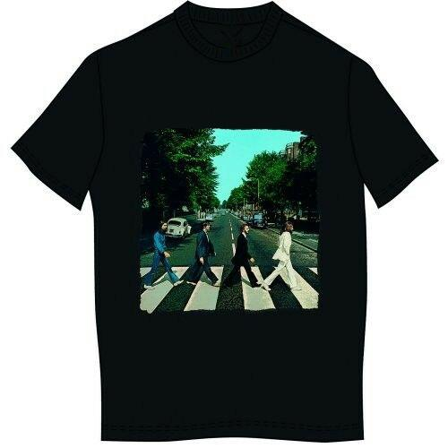 'Abbey Road & Logo' T-Shirt - NEW & OFFICIAL!
