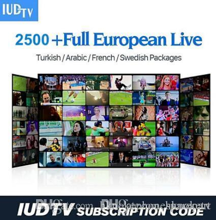 IUDTV full European IPTV Support for Android tv box APK m3u Smart tv 1 years