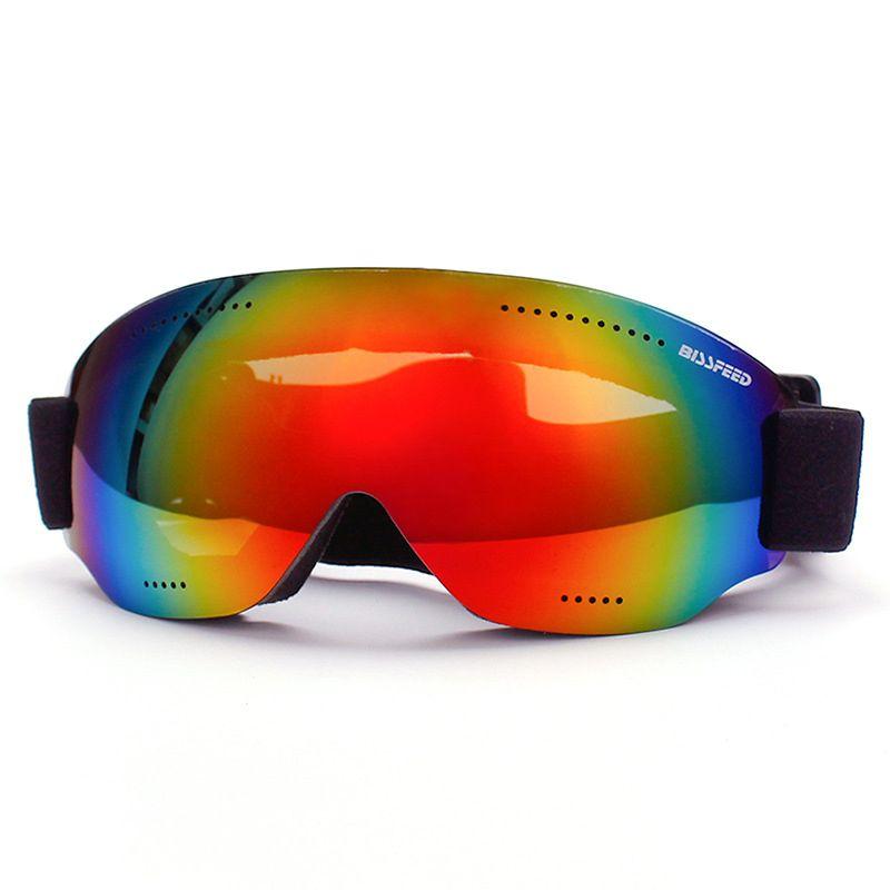 bcf8ef20d03 Ski Goggles Kids Double Lens UV Protection Anti-fog Windproof ...