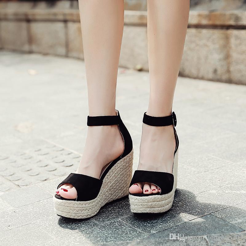 396a22dc35f24 Women Sandals with Heels Ankle Strap Sandals Stripper Heels Platform ...
